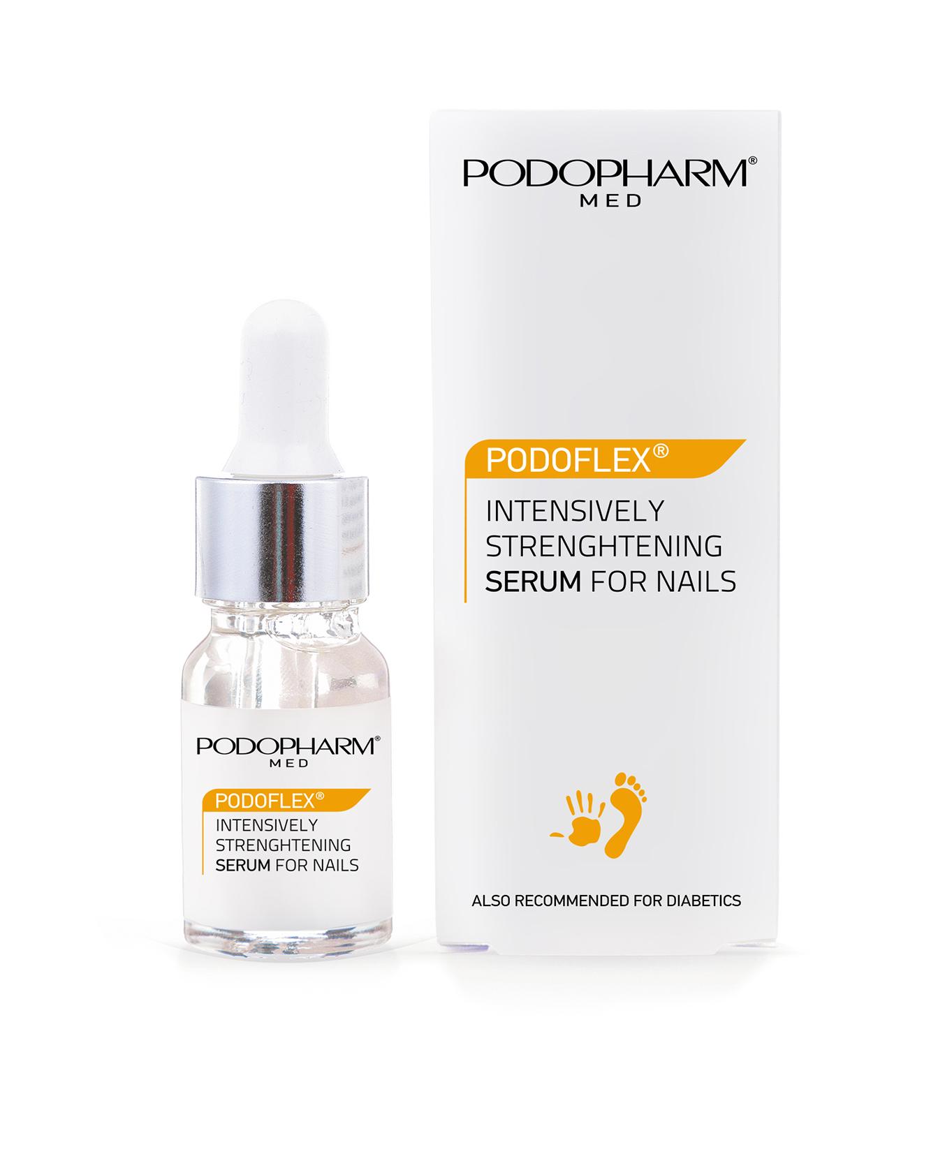 Podoflex - intensywnie wzmacniające serum do paznokci
