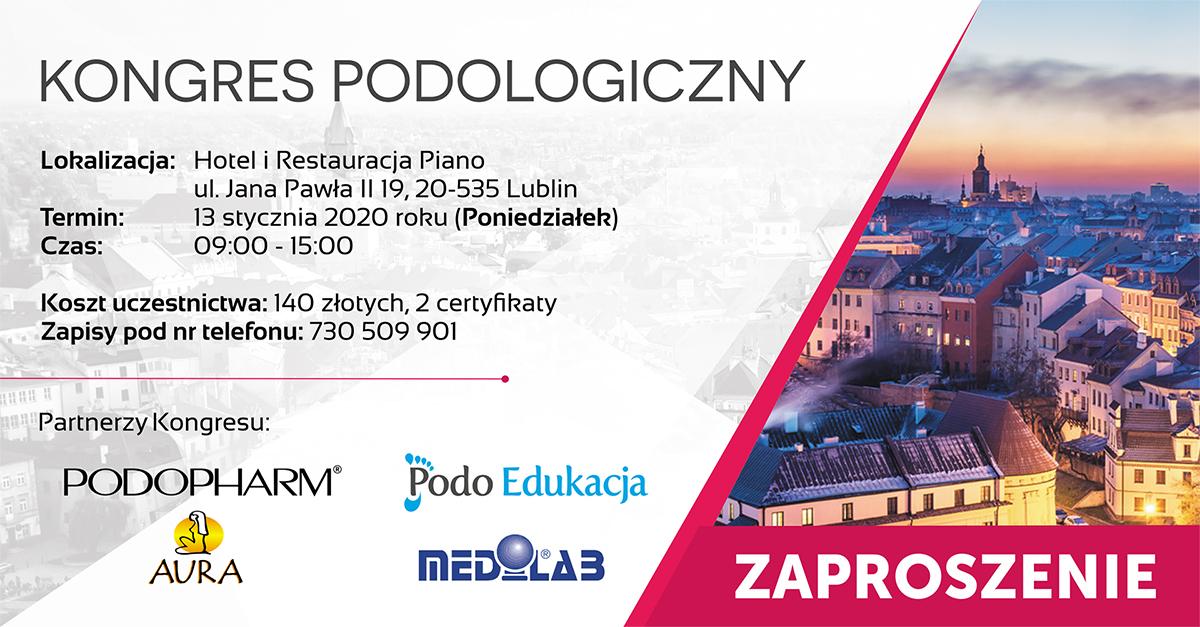 Kongres podologiczny Lublin